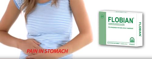 Flobian – 20 billion good bacteria – Calms intestine
